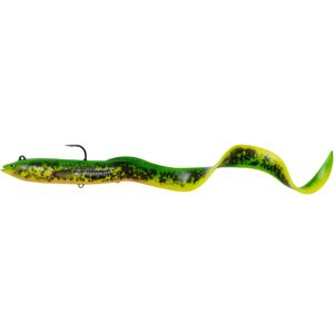 Savage gear gumová nástraha real eel 30 cm 80 g olive pearl 1ks-20 cm 38 g