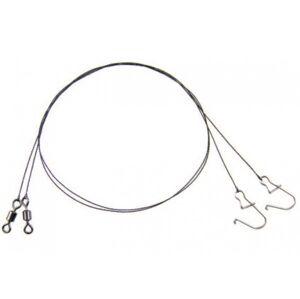 Mistrall volfrámové lanko pre lov dravcov -25 cm 5 kg
