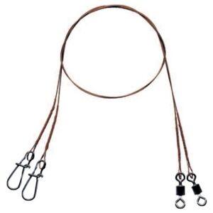 Mistrall oceľové lanko pre lov dravcov 7x7 - 30 cm 7 kg