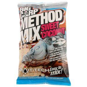Bait-tech krmítková zmes big carp sladký kokos method mix 2 kg