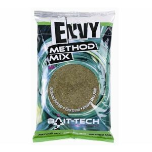 Bait-tech krmítková zmes envy green hemp & halibut method mix 2 kg