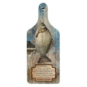 Bg dekoračná kuchynská doska pre rybárov