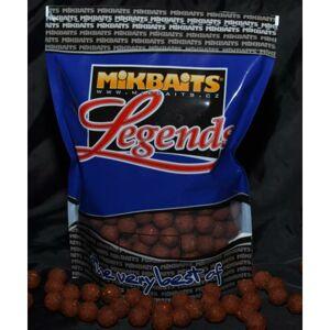 Mikbaits boilie legends 1 kg 24 mm-bigmiks + bigs oliheň&javor
