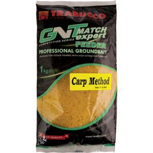 Trabucco krmítková zmes gnt feeder expert 1 kg-carp method