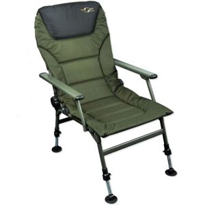 Carp spirit padded level chair with arms