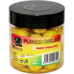 Lk baits boilie fluoro 250 ml 18 mm - compot nhdc