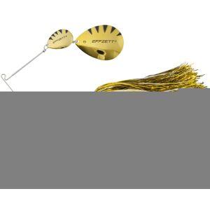 Dam blyskáč effzett pike rattlin spinnerbait gold 17 cm 43 g