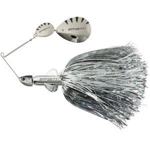 Dam blyskáč effzett pike rattlin spinnerbait silver 17 cm 43 g