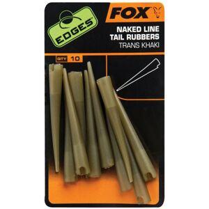 Fox edges gumové prevleky naked line tail rubbers 10ks