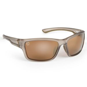 Fox okuliare sunglass trans khaki brown mirror