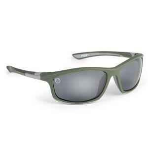 Fox okuliare sunglasses green silver grey lense