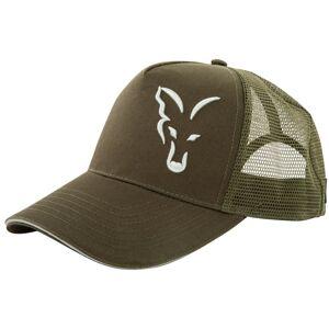 Fox šiltovka trucker cap green silver