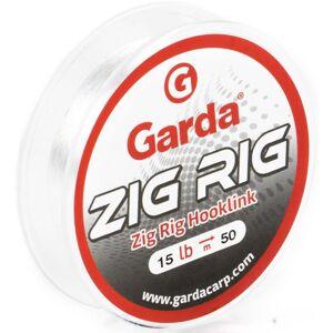 Garda nádväzcový vlasec zig rig číra 50 m - nosnosť 15 lb