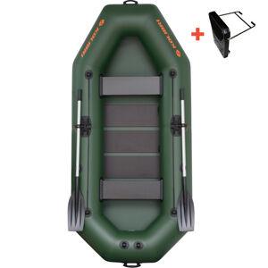 Kolibri čln k-280 t zelený lamelová podlaha + držiak