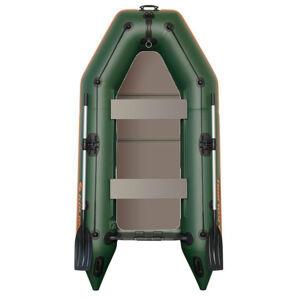 Kolibri čln km-245 d zelený pevná podlaha nafukovací kýl