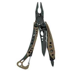 Leatherman nôž multitool skeletool coyote tan