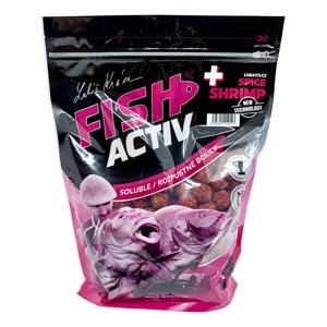 Lk baits boilie fish activ plus spice shrimp - 1 kg
