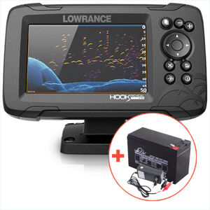 Lowrance echolot hook reveal 5 so sondou hdi 50/200 khz