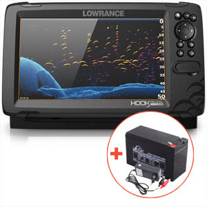 Lowrance echolot hook reveal 9 so sondou tripleshot