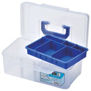 Meiho rybársky box transparentný novelty l
