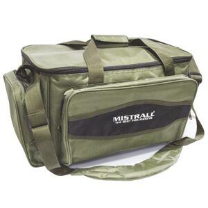 Mistrall rybárska taška s vreckami zelená