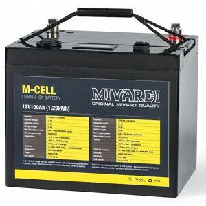 Mivardi lithiová baterie m-cell 12 v 100 ah + 20 a nabíjačka