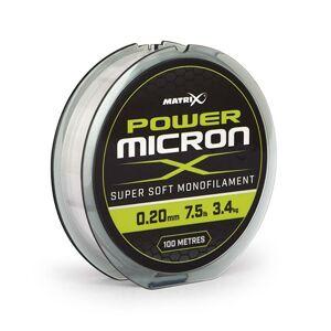 Matrix vlasec power micron x 100 m - 0,10 mm - 1,1 kg