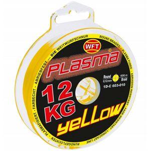 Wft šnúra kg plasma round green 150 m - 0,10 mm 12 kg