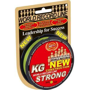 Wft šnúra kg strong zelená - 300 m 0,12 mm 15 kg