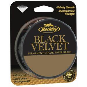 Berkley spletaná šnúra black velvet-priemer 0,16 mm / nosnosť 17,8 kg / návin 1 m