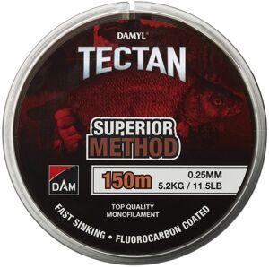 Dam vlasec damyl tectan method hnedý 150 m - 0,16 mm - 2,3 kg