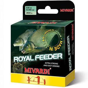 Mivardi vlasec royal feeder green 200 m-priemer 0,165 mm / nosnosť 3,2 kg
