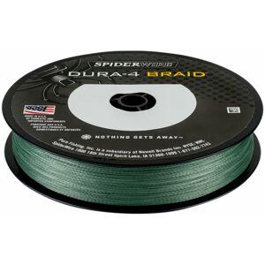 Spiderwire splietaná šnúra dura4 150 m green-priemer 0,20 mm / nosnosť 17kg