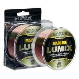 Mivardi vlasec lumix mainline camo 600 m-priemer 0,255 mm / nosnosť 6,45 kg