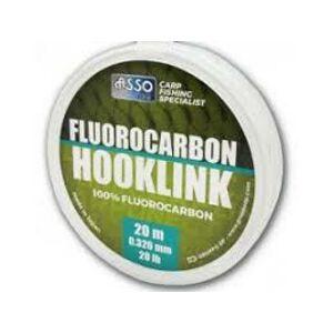 Asso fluorocarbon hooklink 20 m - priemer 0,281 mm