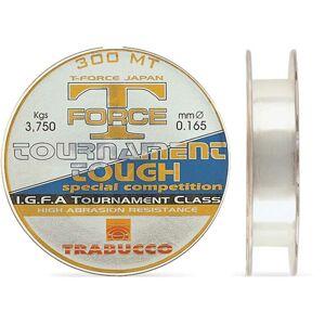 Trabucco  vlasec  t-force tournament tough 150 m crystal-priemer 0,30 mm / nosnosť 12 kg