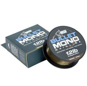 Nash silon bullet mono brown 1000 m-priemer 0,33 mm / nosnosť 12 lb
