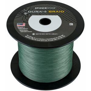 Spiderwire splietaná šnúra dura4 green - priemer 0,35 mm / nosnosť 35 kg / 50 m