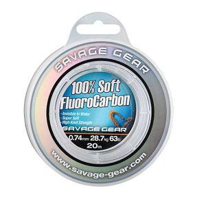 Savage gear fluorocarbon soft fluoro carbon 35 m-priemer 0,39 mm / nosnosť 9,4 kg