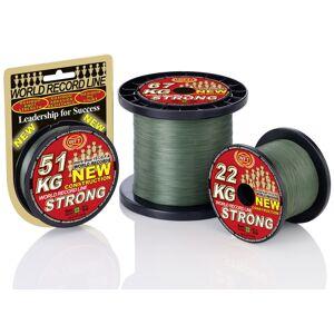 Wft šnúra kg strong zelená 2000 m - 0,08 mm 10 kg