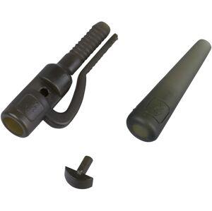 Prologic závesky safety leadclip tailrubber 10 ks