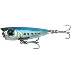 Savage gear wobler 3d minnow popper ghost sardine - 4,3 cm 4 g