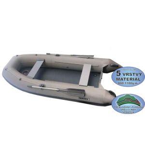 Sportex čln shelf s kýlom a pevnou nafukovacou podlahou zelený 360