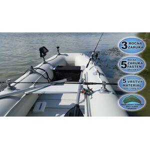 Sportex nafukovacie člny shelf 290f lamelová podlaha s úchytmi fasten šedý 2x lavička