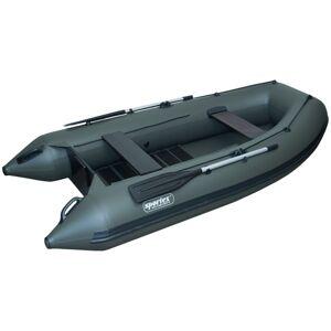 Sportex nafukovacie člny shelf 330f lamelová podlaha s úchytmi fasten zelený 2x lavička