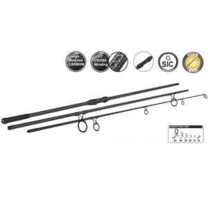 Sportex prút competition carp cs-4 3 dielny 3,66 m (12 ft) 3,25 lb