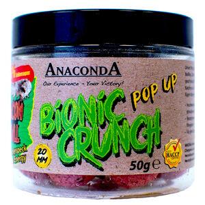 Anaconda pop up boilie bionic crunch 20 mm 50 g-tigrí orech s bielou čokoládou