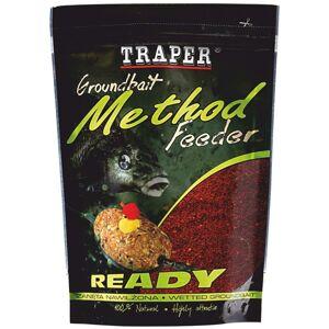 Traper krmítková zmes groundbait method feeder ready marcipán zelený - 750 g